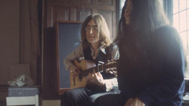 John Plays For Yoko